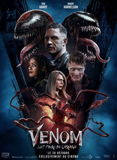 Affiche film Venom: Let There Be Carnage